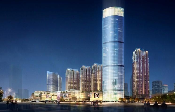青岛国际贸易中心(山东第一高层)