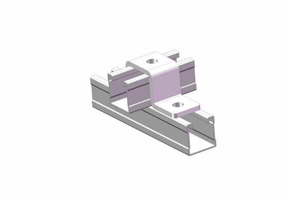 单面槽钢连接件