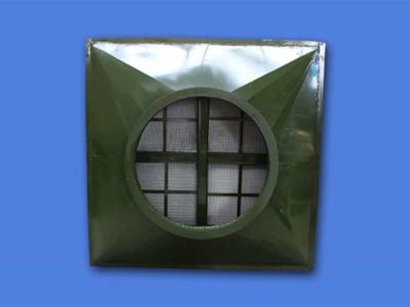 管式油网滤尘器